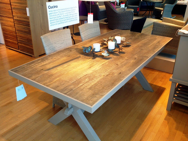 Crate & Barrel Inspired JOKKMOKK dining table