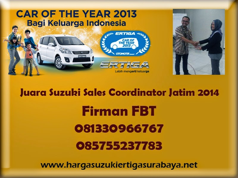 Harga OTR Suzuki Ertiga UMC Dan SBT Surabaya Sidoarjo Bangkalan Pamekasan Call Firman FBT 085755237783
