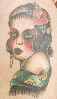 Tatuagens cigano no ombro