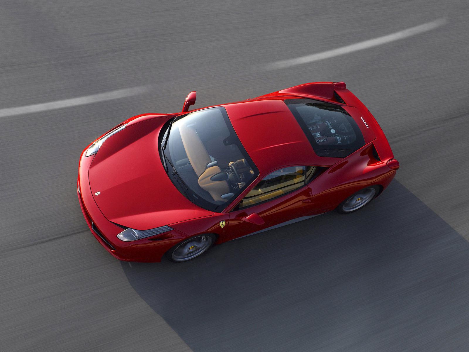 Gambar Mobil Ferrari 458 Italia 2011