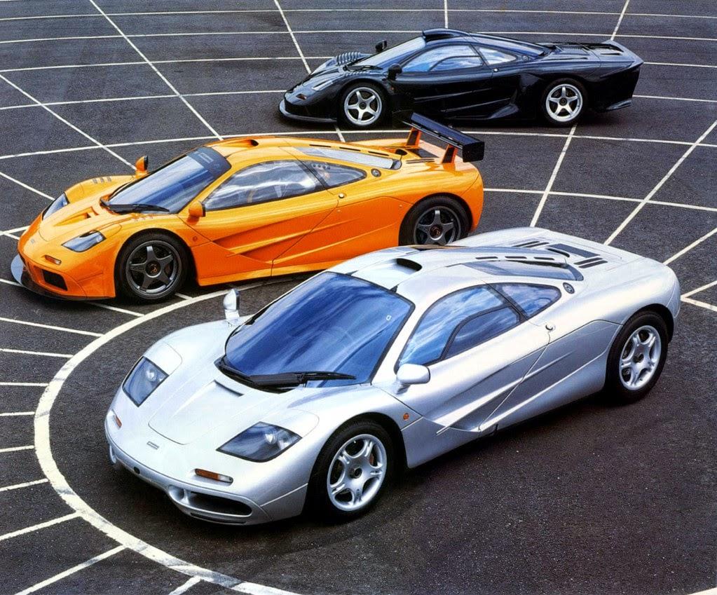 McLaren F1 سيارة مكلارين إف1