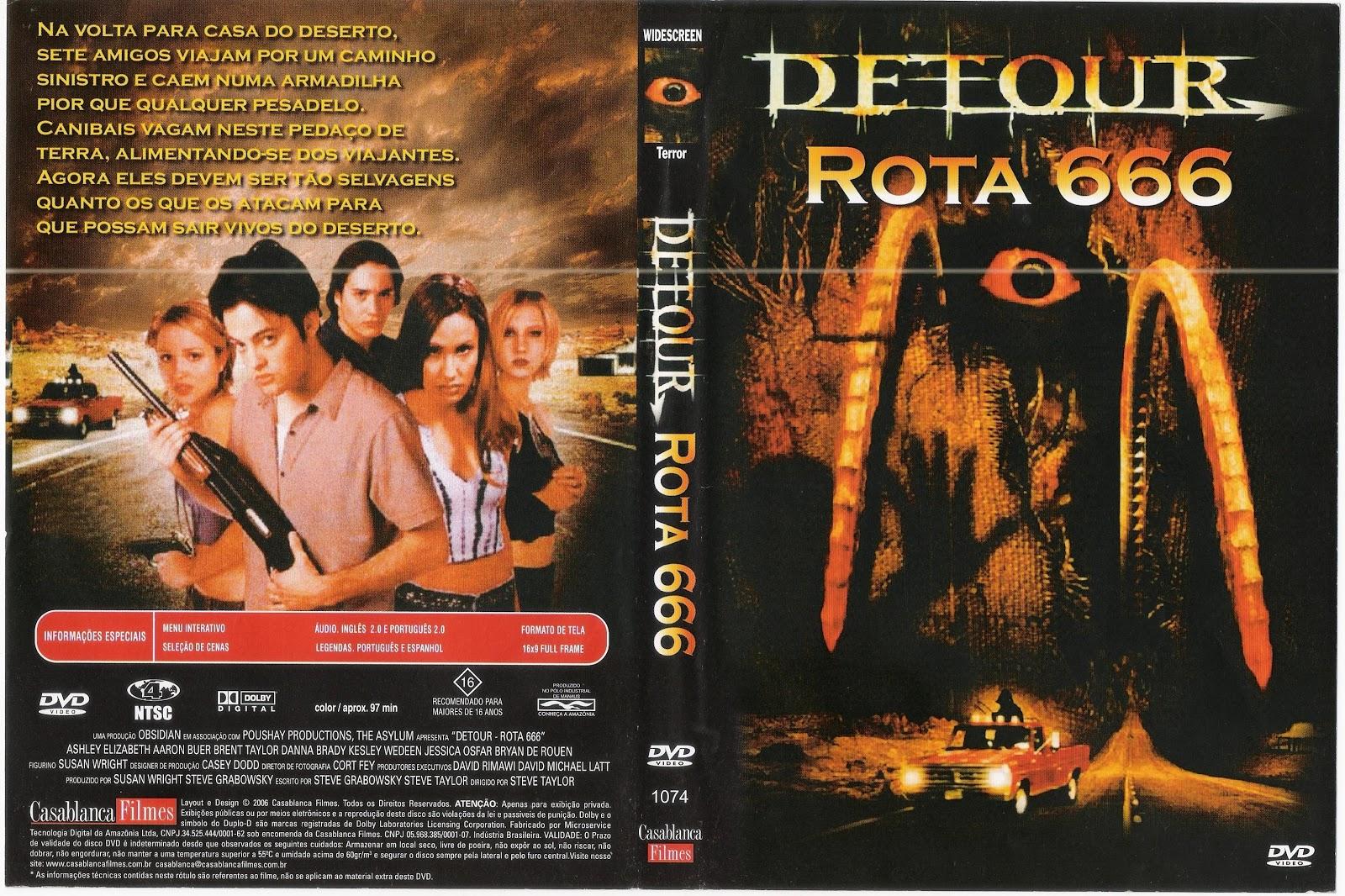 Capa DVD Detour Rota 666