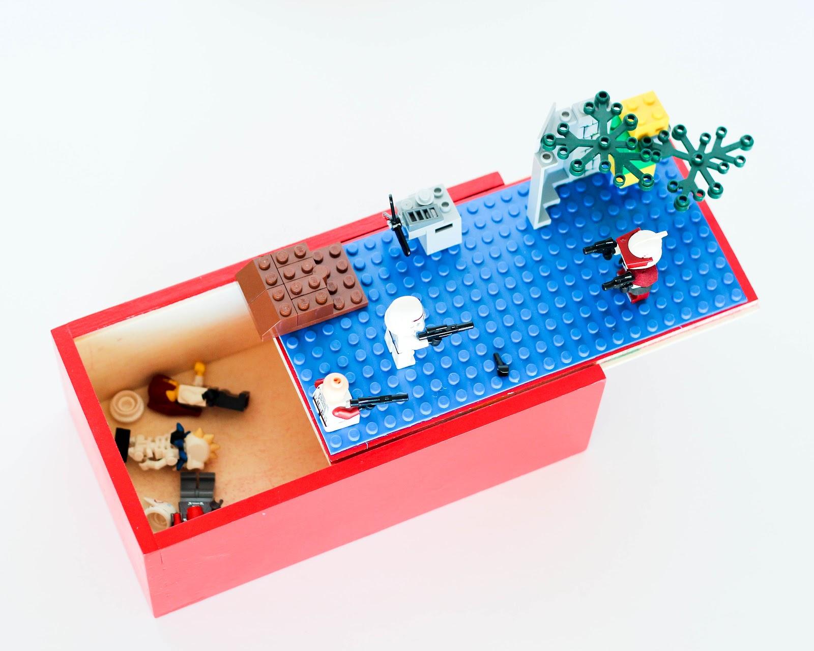 Finley and oliver diy lego travel box for Lego diy