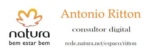 Vendas On line Natura clique no logo