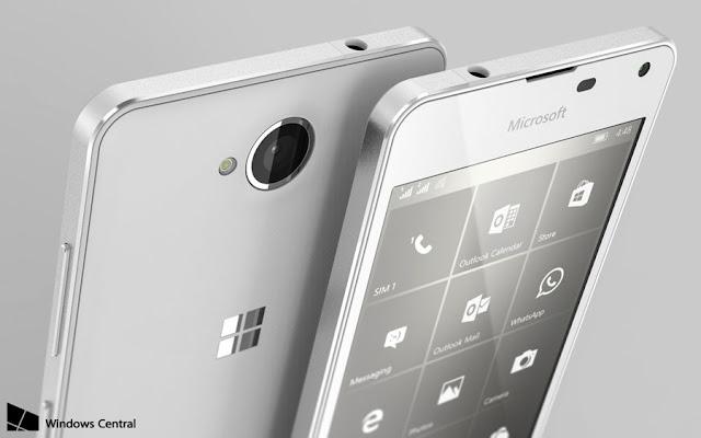 Microsoft Lumia 650 akan memulai debutnya awal 2016, inikah desain akhirnya?