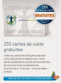 250 Magnifiques Cartes De Visite Gratuites Avec Easyprint Jai Teste