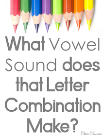 Vowel sounds: letter combinations and the sounds that vowels make.