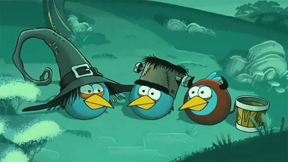 Rovio Teases The Newest Angry Birds Adventures With A Surprise, Angry Birds - A sneak peek to the newest adventures!, RovioMobile