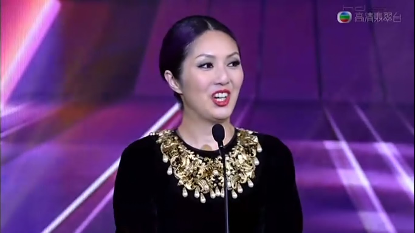 Ycrox: 萬千星輝頒獎典禮2012 TVB Anniversary Awards 2012 Linda Chung Witness Insecurity