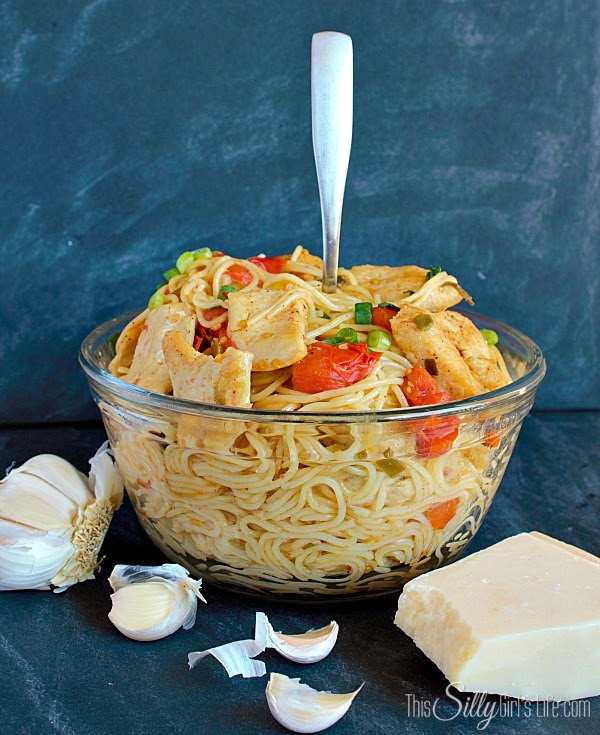 Cherry Tomato & Chicken Pasta