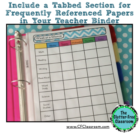 Papers {Paper Organization in the Classroom} - Clutter-Free Classroom