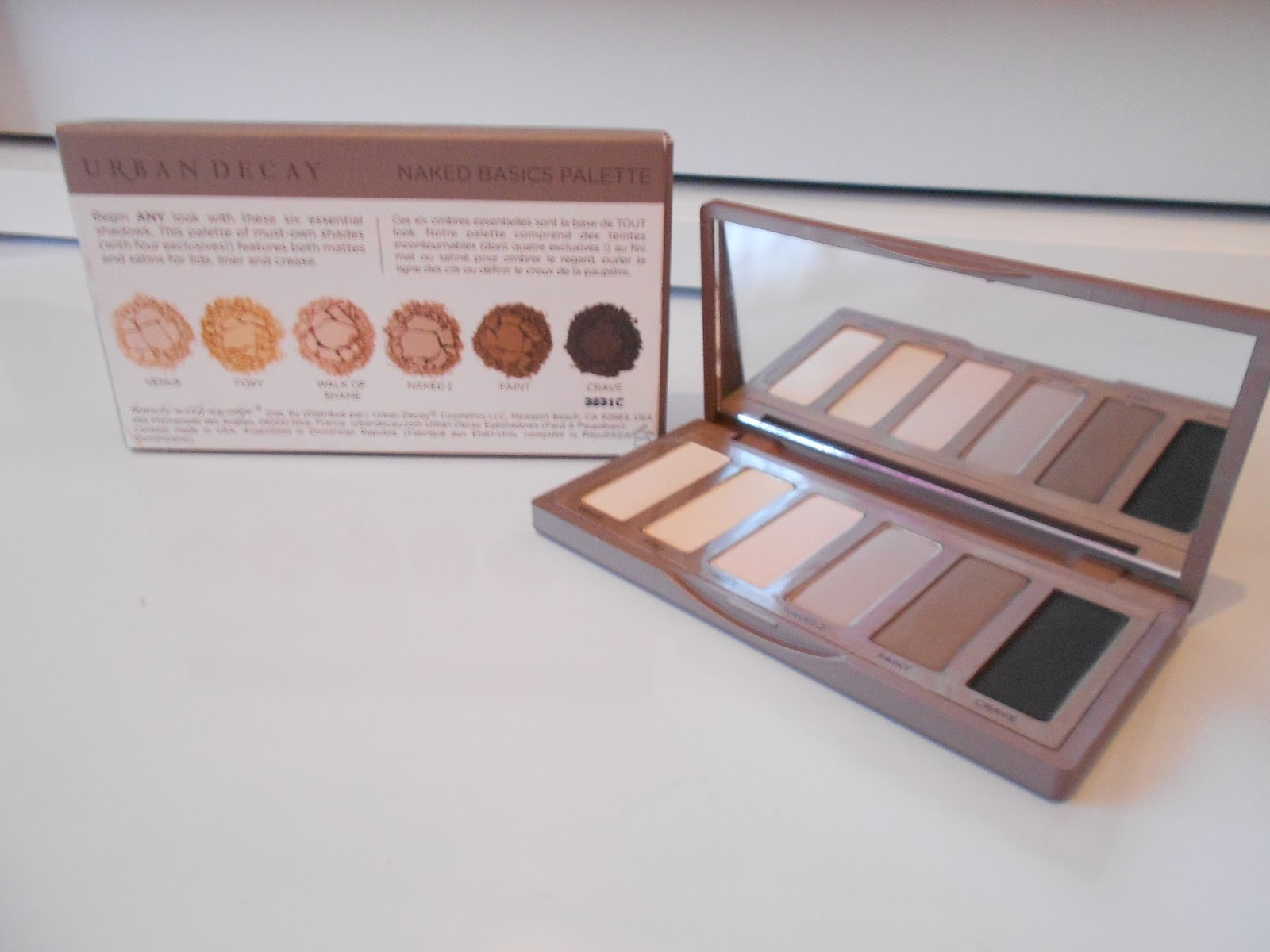 urban decay naked basics naked 3 cheap shades review