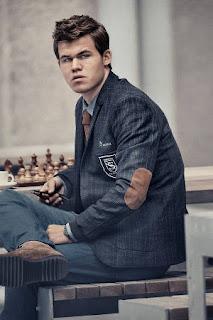 Le favori Magnus Carlsen