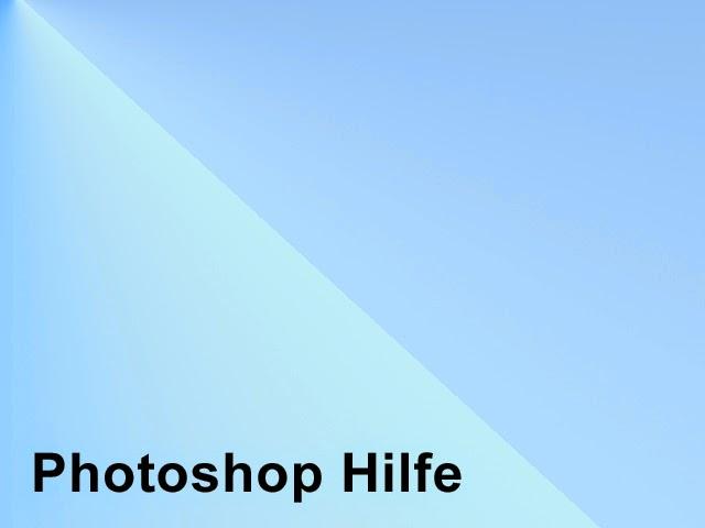 Photoshop Hilfe