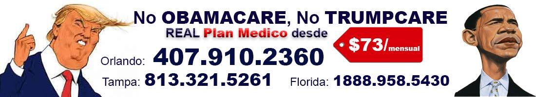 Orlando, Tampa, Fl: Planes Médicos. Seguros Médicos. Obamacare.