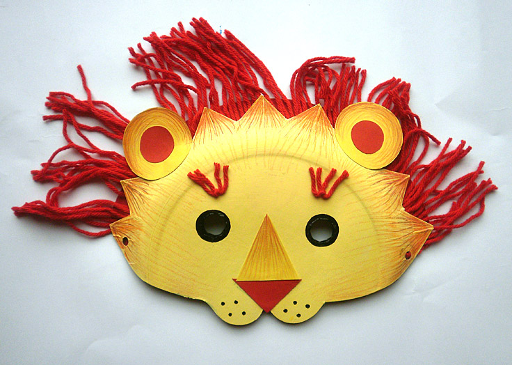 masques masque lion - Masque Lion