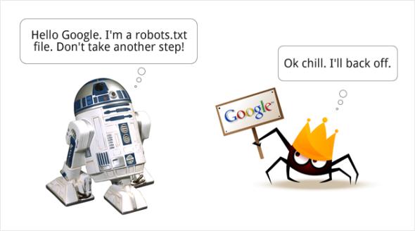 tap tin robots.txt