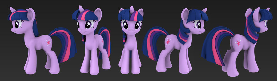 My Little Pony 3D (Open Source) Games - The Friendship is Magic ...