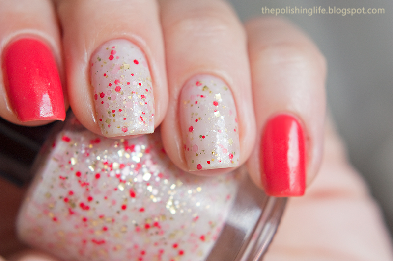 Hare Polish Let Them Eat...What? + Zoya Elodie