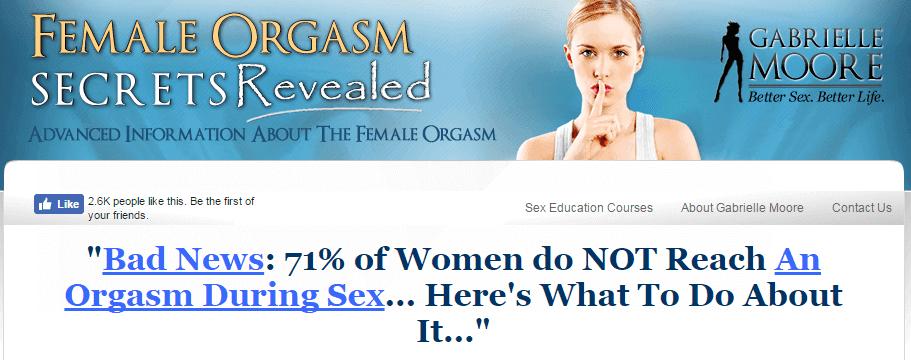 Female Orgasm Secrets Revealed