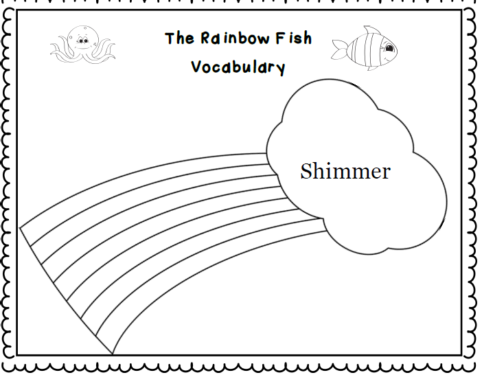 ReadySetRead The Rainbow Fish by Marcus Pfister Free Literacy Pack – Rainbow Fish Worksheets