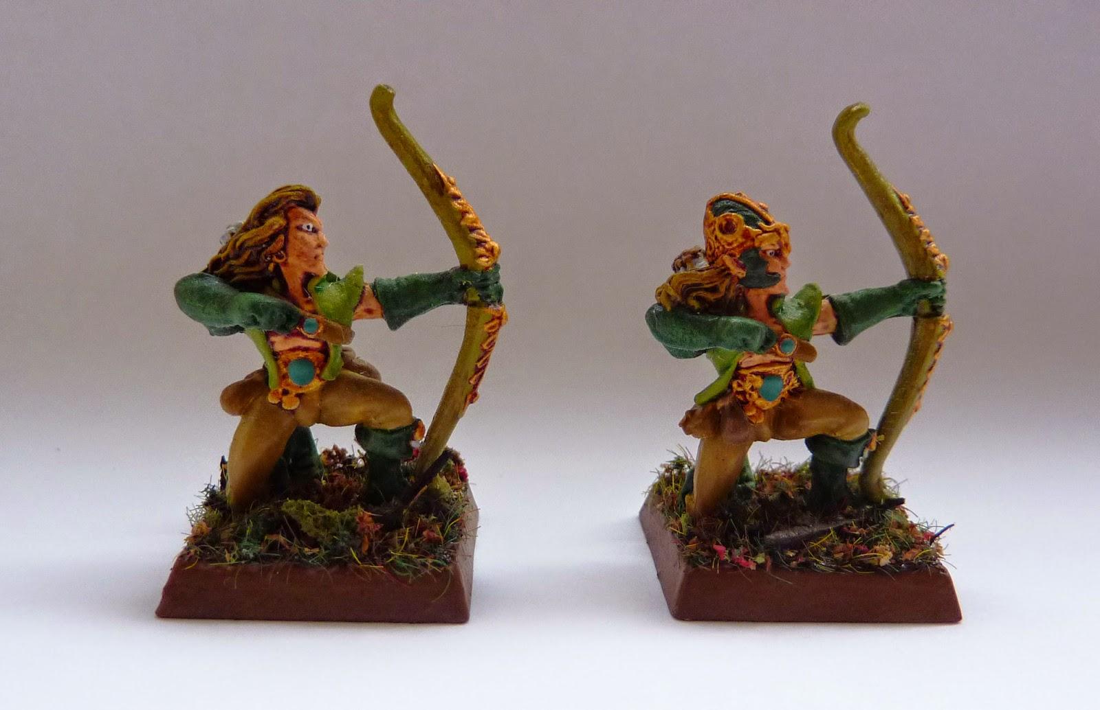 Classic Wood Elf Deepwood Scouts