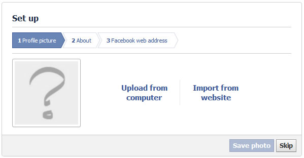 how to set your url on facebook business page