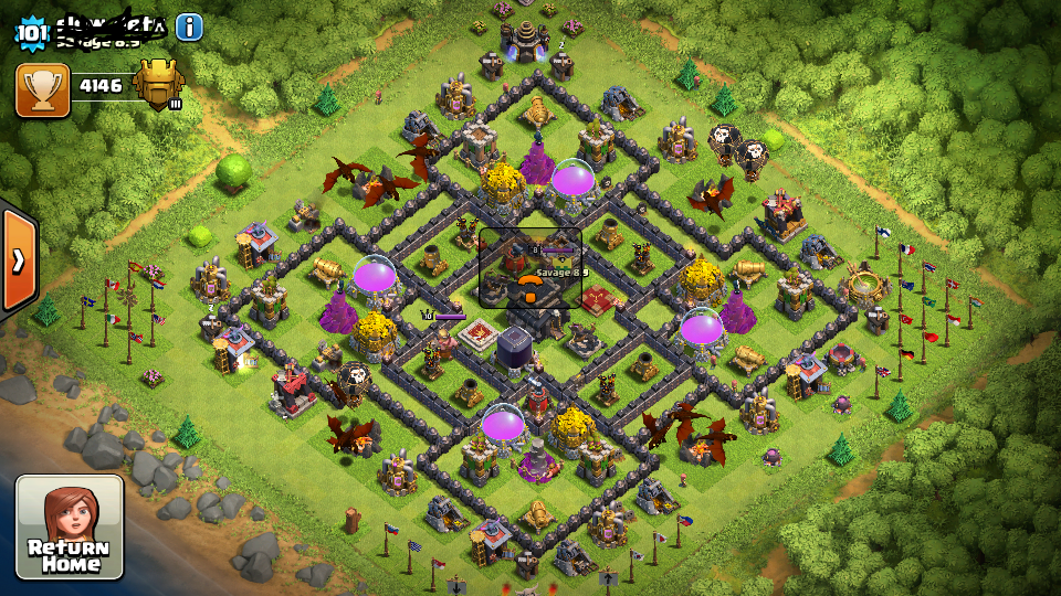 Th9 base layouts clash of clans coc 360