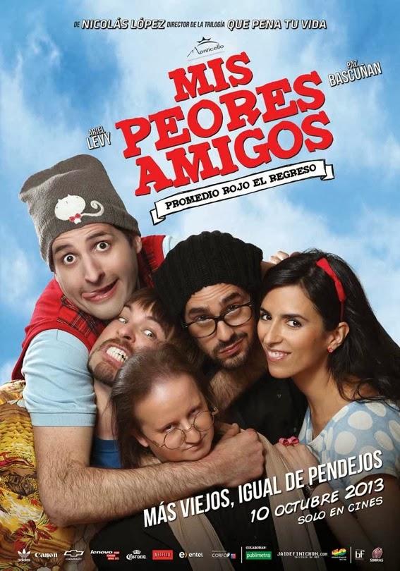 Mis peores amigos: Promedio rojo el regreso (2013)