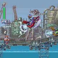 770daa2c Chore conosco ao ver essas screens de Megaman X4 para celulares japoneses