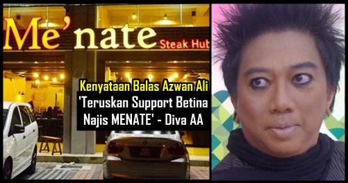 Serangan Balas Azwan Ali