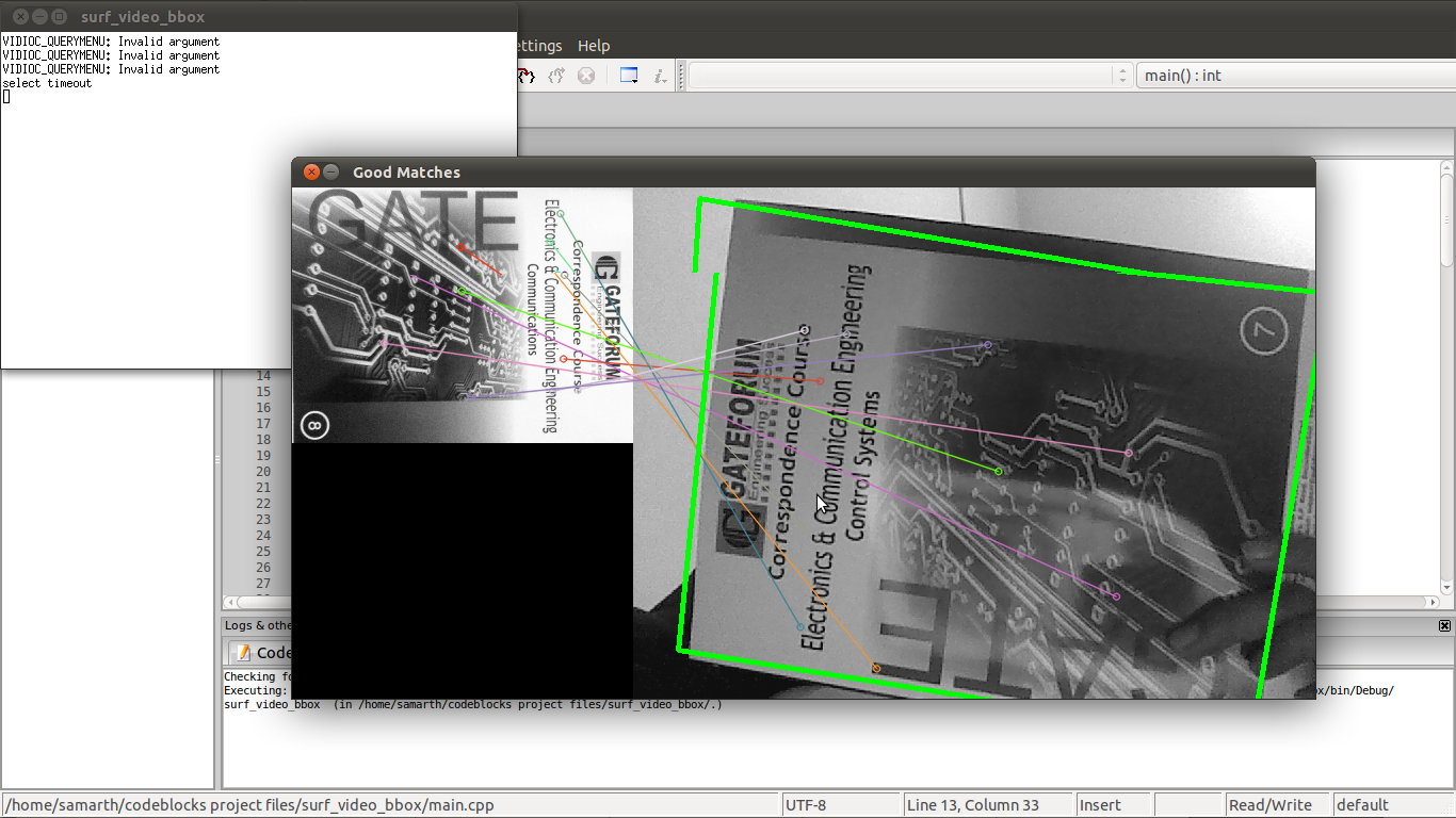 Real Time Object Detection In Opencv Using Surf Computer Vision