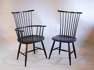 Waltham Chairs by Timothy Clark, Cabinetmaker/Chairwright