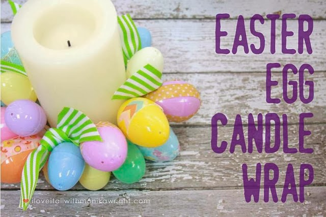 #easter #diy #tutorial #candle #eggs #washitape #homedecor #iloveitall