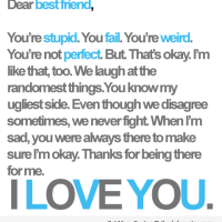 i love you best friend friendship quotes sayings pics