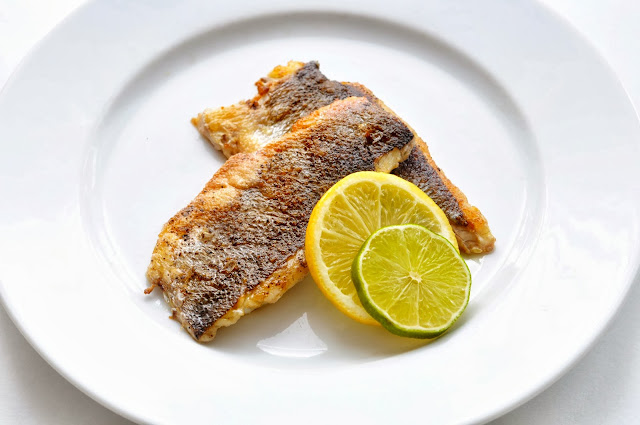 Pan Fried Sea Bass ~ Simple Food