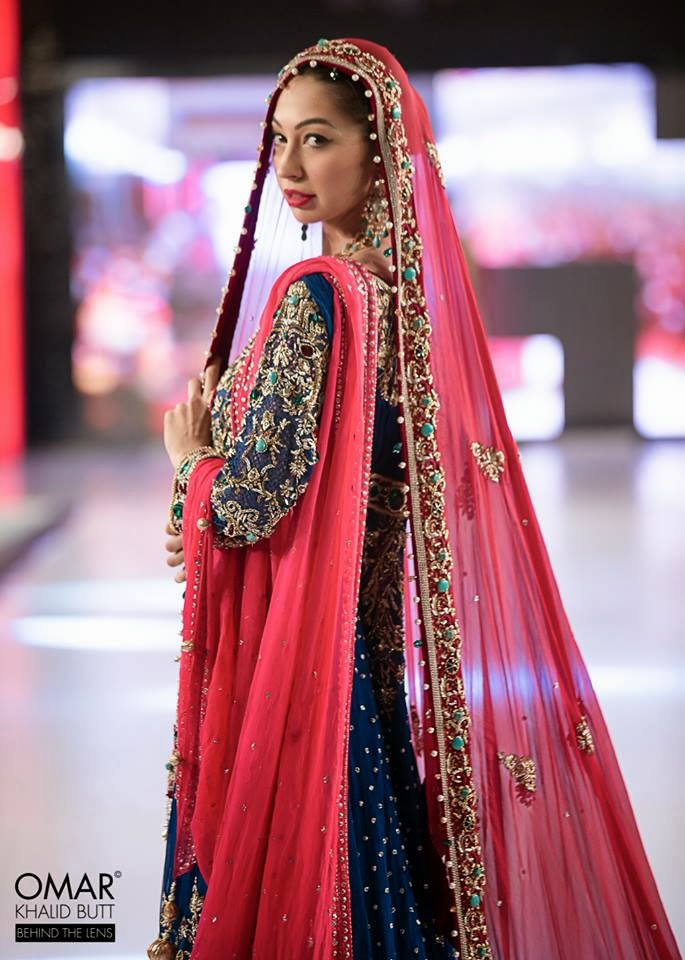 Designer: Mohsin Naveed Ranjha Day one of ISLAMABAD fashion WEEK 2013  Model Rubya Chaudry Photographer : Omar Khalid Butt, Best Pakistani bridal Dress