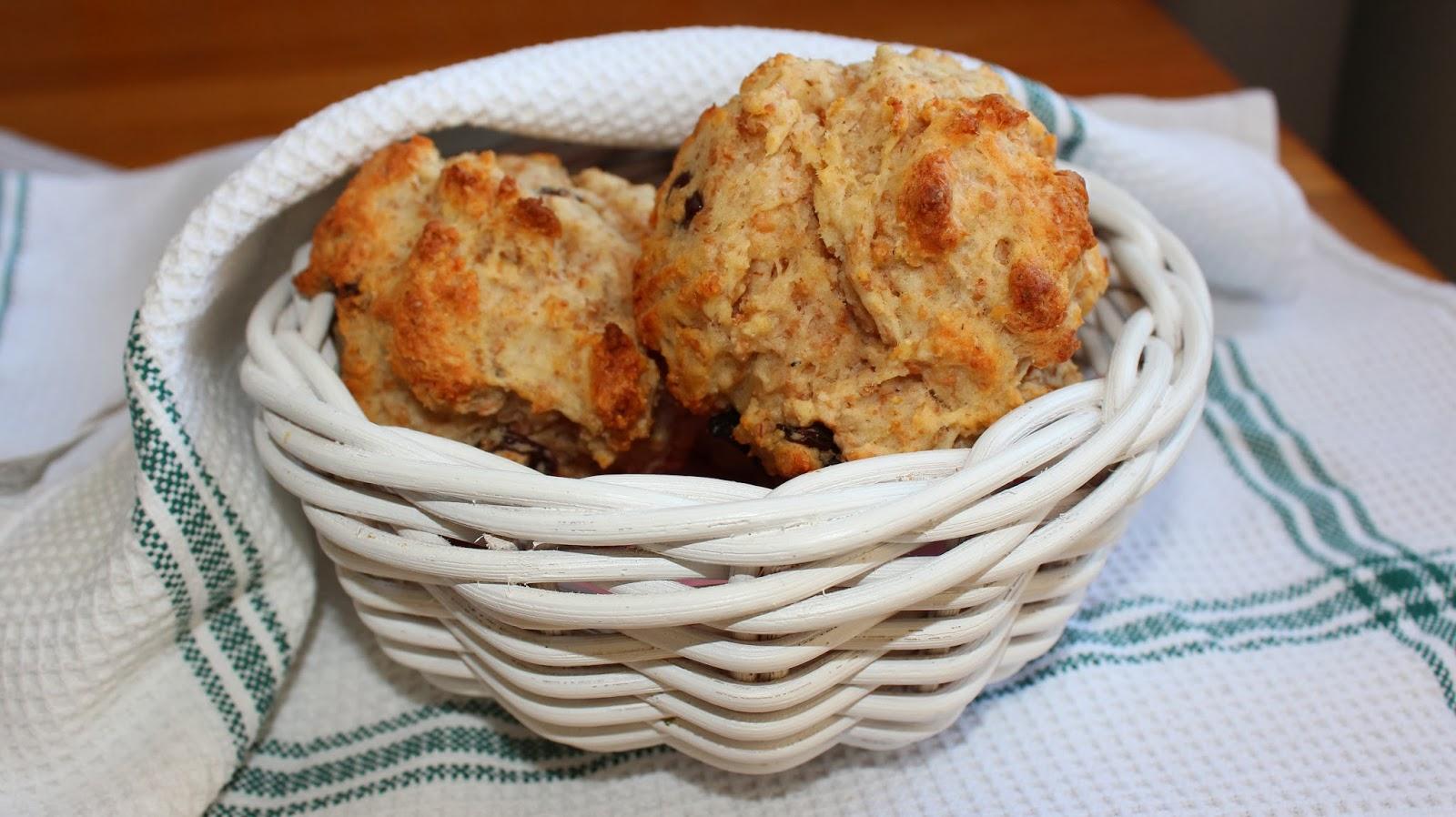 scones med kvarg