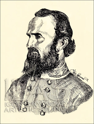 General Stonewall Jackson, portrait