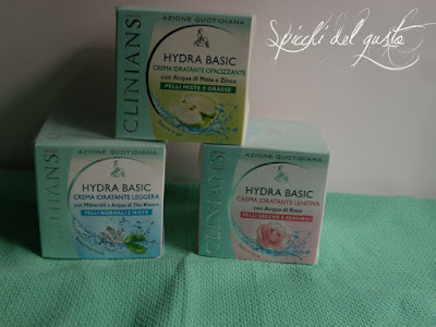 idratazione quotidiana viso Clinians Hydra basic