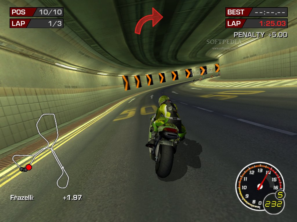 Game Balap Motor MotoGP 3 Ultimate Racing Technology | soft game