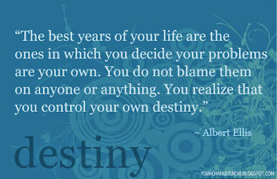 Quotes about destiny, chance, luck and fate
