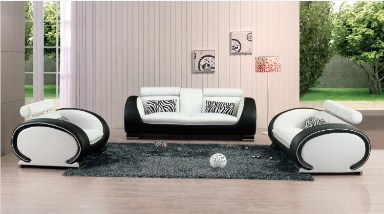 les astuces pour nettoyer un canap en cuir blanc d cor. Black Bedroom Furniture Sets. Home Design Ideas