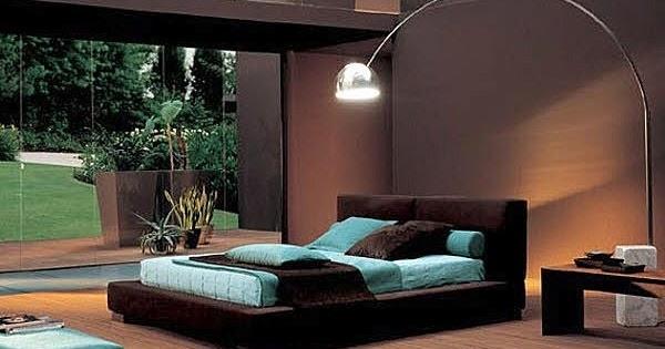 Decoracion actual de moda dormitorios de color marr n - Decoracion actual de moda ...