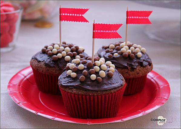 petits gâteaux pépites de chocolat