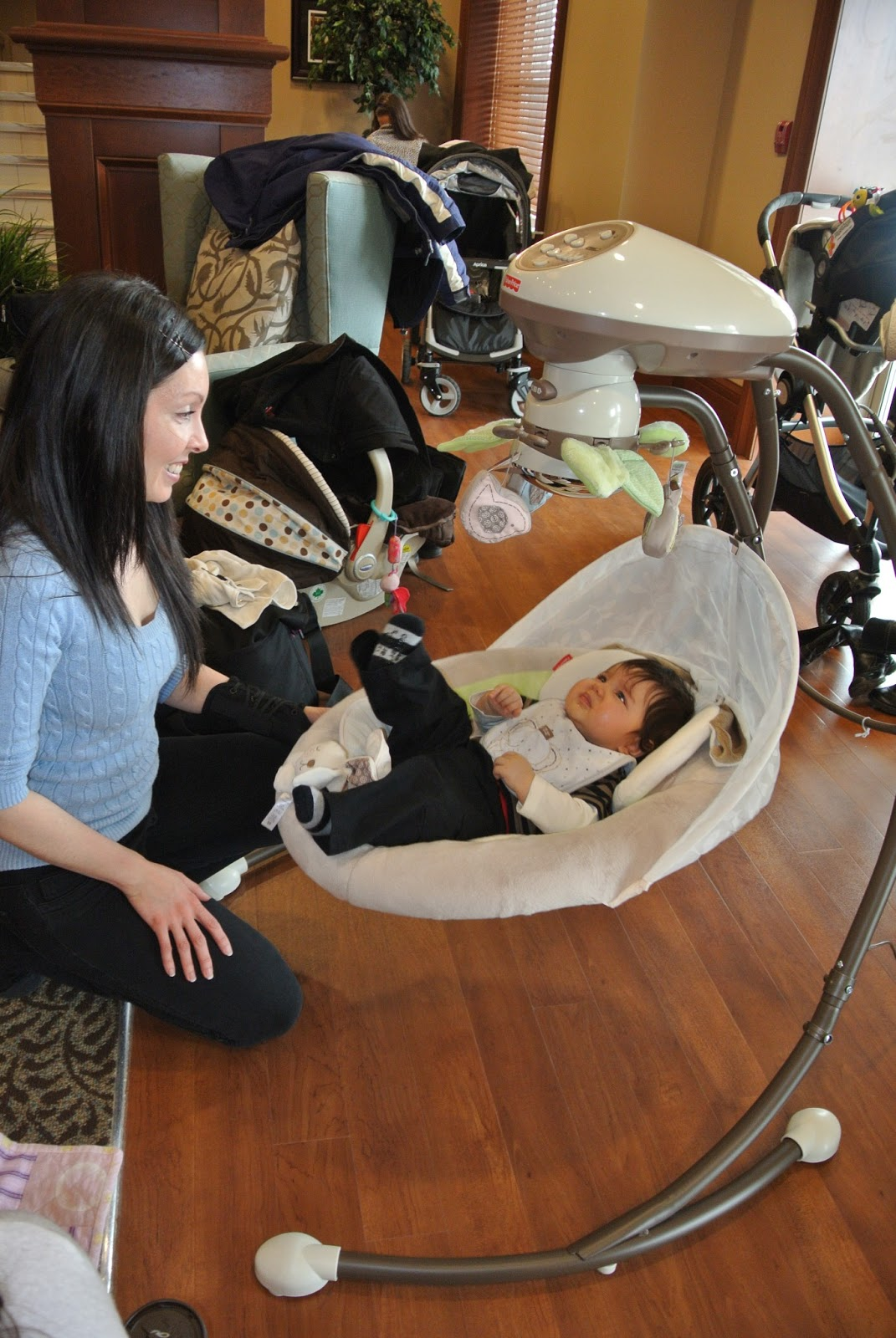 Baby Furniture Kitchener Kitchener Waterloo Moms Babies Were Overjoyed At Fisher Price