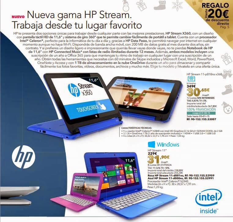 HP Strean X360 Navidad 2014 LTC