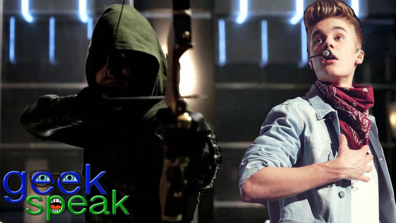 Arrow vs. Justin Bieber Fight