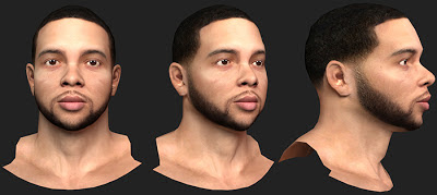 NBA 2K13 Deron Williams Cyberface Patch Mod