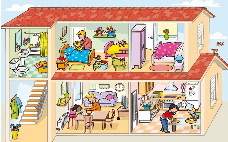 """La clase de la seño Nuria : Unidad didáctica 2: """"Un oso en la casa"""""""